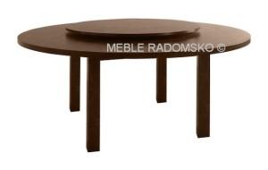 Stoły drewniane - stół z obrotowym blatem