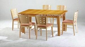 Stół nowoczesny ST-6 i krzesla nowoczesne A-9731