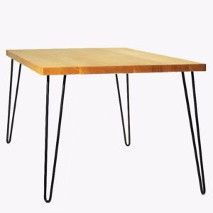 stół drewniany z litym blatem