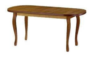 Drewniany stół zaowalony ST-HENRYK