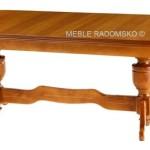 Duży stylowy stół owalny St-Krzysztof