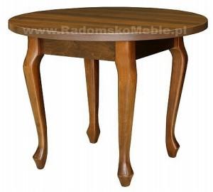 Stół z nakładką drewnianą